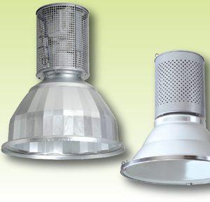 Подвесные светильники с отражателем для помещений с высокой температурой окружающей среды до 60°С Серии 3019- 3026…