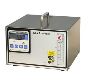 Z230 — Rapid Response Zirconia Oxygen Analyzer (Bench Top)