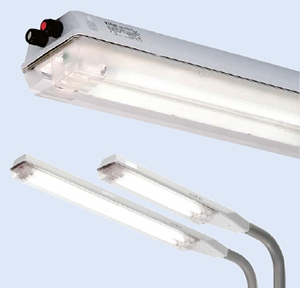 Взрывозащищенные светильники линейного типа eLLK 92 18 Вт ? 58 Вт / eLLM 92 18 Вт ? 36 Вт (зоны 1, 2, 21, 22)