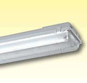 Светильники из полиэстера с диффузором для влажных помещений (Класс изоляции I) Серия 163/164..