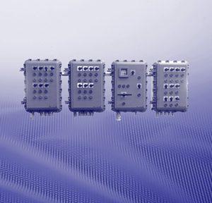 Взрывозащищенные распределительные устройства и монтажные конструкции (класс защиты Ex-d) в металлических корпусах EJB для использования во взрывоопасных газовых средах группы II B
