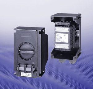 Взрывозащищенные силовые выключатели и защитные автоматы электродвигателей GHG 635/25 А