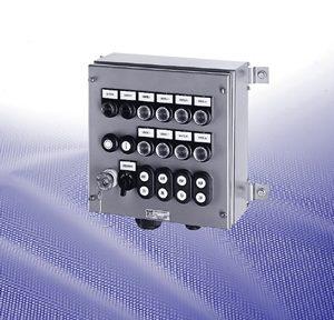 Взрывозащищенные управляющие приборы серий GHG 444 33, GHG 448 33, GHG 449 33 и GHG 447 33 из высококачественной стали