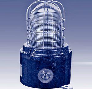 Взрывозащищенный световой оповещатель (мигающий) серии XB15