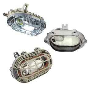 Взрывозащищенные потолочные, подвесные светильники и прожекторы