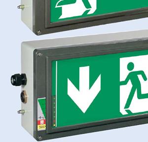 Взрывозащищенные сигнальные и эвакуационные светильники