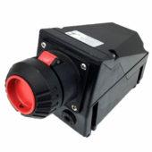 GHG 511 4405 R3001 Розетка 4-контактная 600-690 B 16 А под металлические кабельные вводы