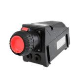 GHG 512 4406 R3001 Розетка 4-контактная 380-415 B 32 А под металлические кабельные вводы