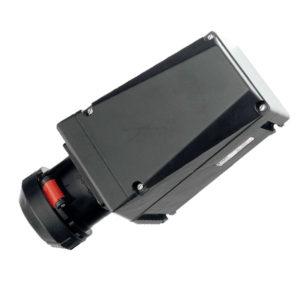 GHG 512 4506 R3003 Розетка 5-контактная 200-250 В/380-415 B 32 А под металлические кабельные вводы с заземляющим болтом М6