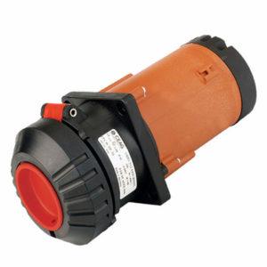 GHG 512 8506 R0001 Розетка фланцевая 5-контактная 200-250 В/380-415 В 32 А