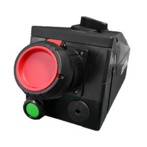 GHG 514 4407 R3001 Розетка 4-контактная 480-500 В 63 А под металлические кабельные вводы