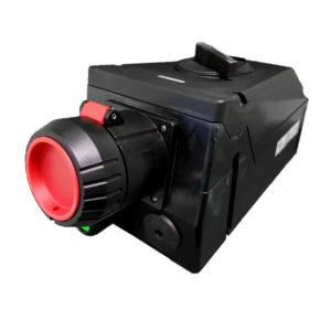GHG 514 4405 R3002 Розетка 4-контактная 600-690 В 63 А под металлические кабельные вводы c заземлением