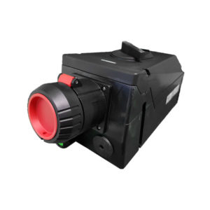 GHG 514 4407 R3003 Розетка 4-контактная 480 В 63 А под металлические кабельные вводы c заземлением