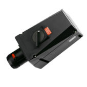 GHG 514 4506 R0001 Розетка 5-контактная 200-250 B/380-415 В 63 А