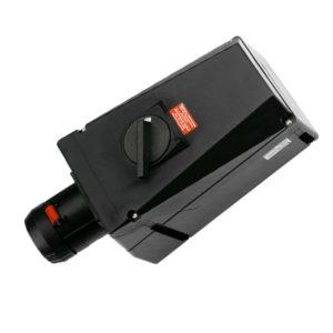 GHG 514 4506 R3006 Розетка 5-контактная 200-250 B/380-415 В 63 А под металлические кабельные вводы с заземлением