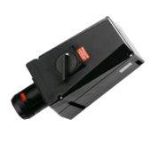 GHG 514 4506 R0501 Розетка 5-контактная 200-250 B/380-415 В 63 А со вспомогательным контактом