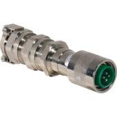 GHG 574 7210 R4001 eXLink разъем штекерный 4-контактный